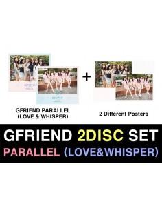 [SET] GFRIEND 5th Mini Album - PARALLEL (LOVE&WHISPER) 2CDs + 2 Different Posters