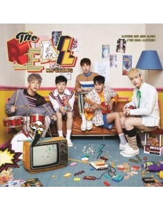 N.Flying 2nd Mini Album -  THE REAL : N.FLYING CD + Poster