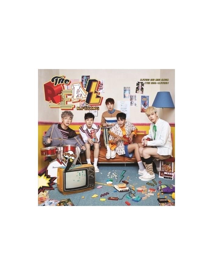 N.Flying 2nd Mini Album -  THE REAL : N.FLYING CD + Poster