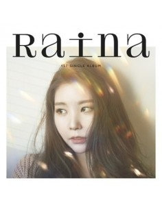RAINA 1st Single Album 밥 영화 카페 CD
