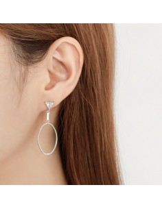 [AS302] Patina Earring