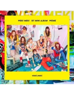 WEKI MIKI 1st Mini Album - WEME CD + Poster