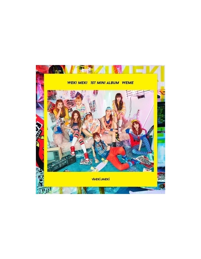 WEKI MIKI 1st Mini Album - WEME CD + Poster