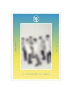 BOYFRIEND 5th Mini Album - NEVER END (Day Ver) CD + Poster