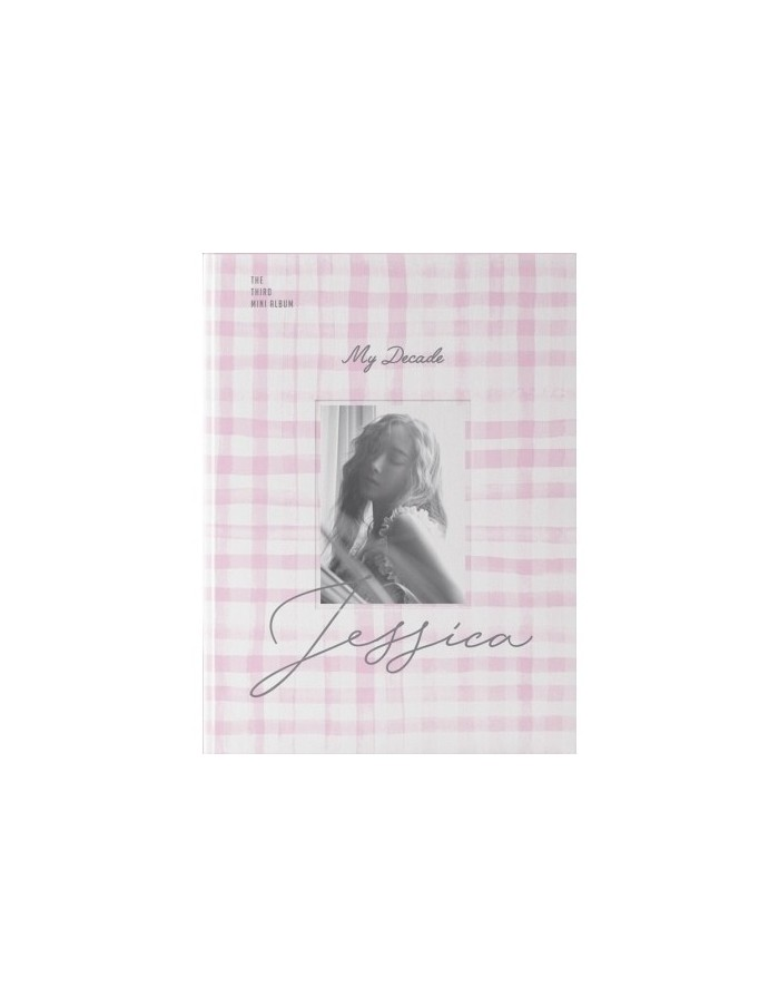 JESSICA 3rd Mini Album - MY DECADE CD + Poster
