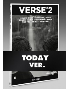 JJ Project - VERSE 2 (TODAY Ver) CD