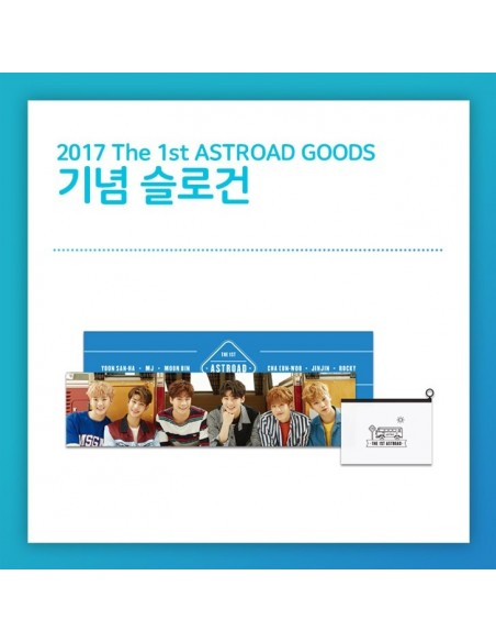 Anniversary Slogan : ASTRO - The 1st Concert ASTROAD Goods [Pre-Order]