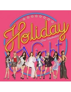 Girls Generation SNSD 6th Album - HOLIDAY NIGHT (Holiday Ver) CD + Poster