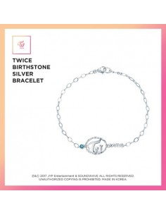 TWICE Birthstone Silver Bracelet [Limited Edition]