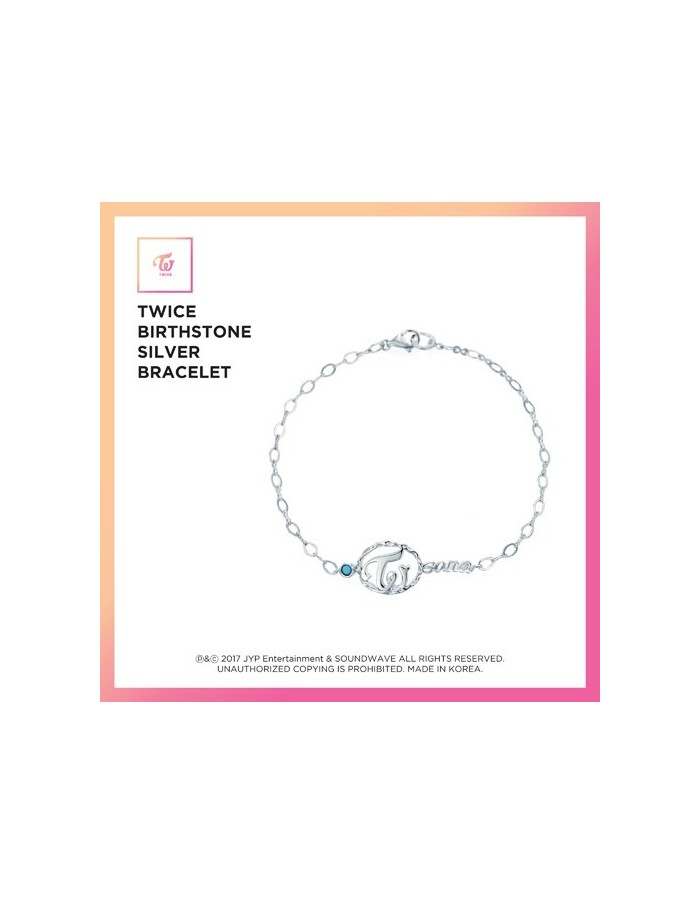 TWICE Birthstone Silver Bracelet [Limited Edition]