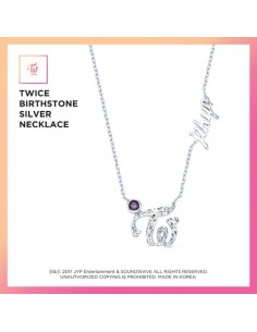TWICE Birthstone Silver Necklace [Limited Edition]
