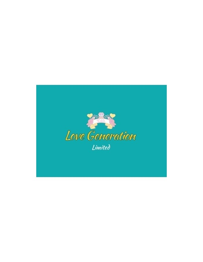 DIA LOVE GENERATION - 3rd Mini Album (Limited) CD + Poster