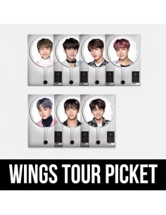 BTS 2017 THE WINGS TOUR Concert Goods - Image Picket