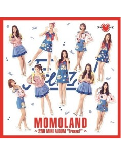 MOMOLAND 2nd Mini Album - Freeze! CD + Poster