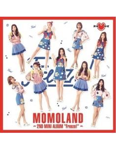 MOMOLAND 2nd Mini Album - Freeze! CD + Poster
