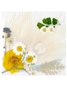 BIGBANG TAEYANG 3rd Album - WHITE NIGHT (WHITE Ver) CD + Poster