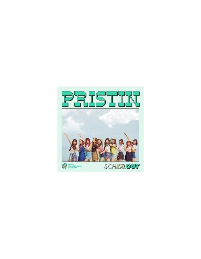 PRISTIN 2nd Mini Album - SCHXXL OUT (OUT Ver) CD + Poster