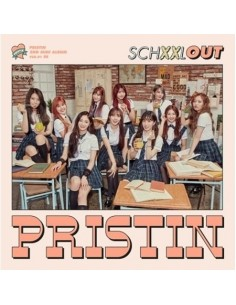 PRISTIN 2nd Mini Album - SCHXXL OUT (IN Ver) CD + 2 Different Poster