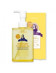 [ETUDE HOUSE] Real Art Cleansing Oil Moisture NEW 185ml