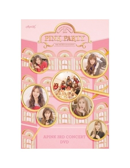 APINK 3rd Concert DVD - PINK PARTY (2 DISC)