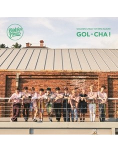 GOLDEN CHILD 1st Mini Album - GOL-CHA CD + Poster