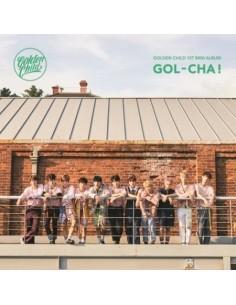 GOLDEN CHILD 1st Mini Album - GOL-CHA CD + Poster