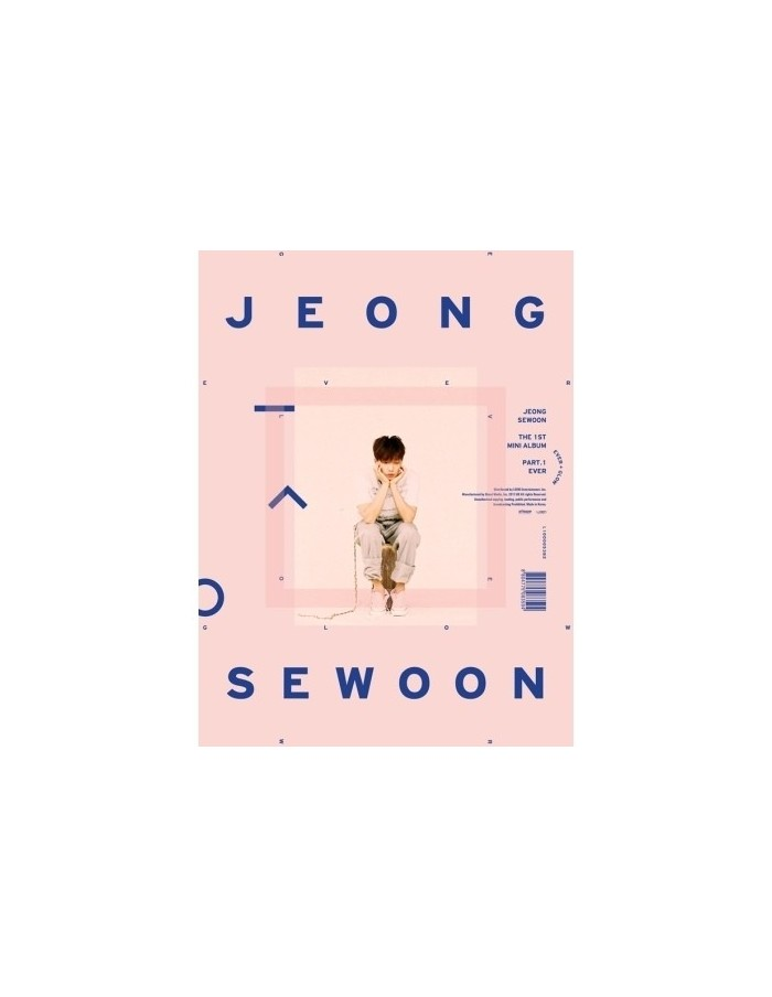 JEONG SEWOON 1st MinI Album - EVER CD (GLOW Version)