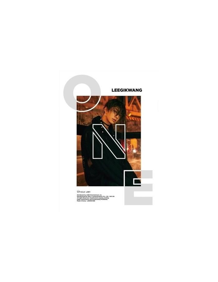 Lee Gi Kwang(HIGHLIGHT) 1st Mini Album - ONE CD + Poster