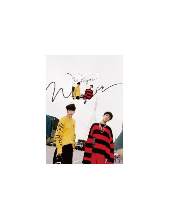 [Kihno Edition] VIXX LR 2nd Mini Album - WHISPER Kihno Card + Poster
