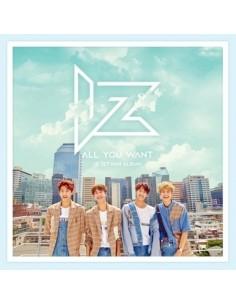 IZ 1st Mini Album - ALL YOU WANT CD + Poster