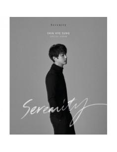 SHIN HYE SUNG Special Album - SERENITY (Mono Ver) CD + Poster