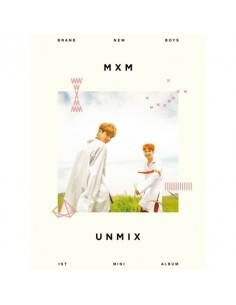 MXM (BRANDNEW BOYS) - UNMIX (A TYPE) CD + Poster