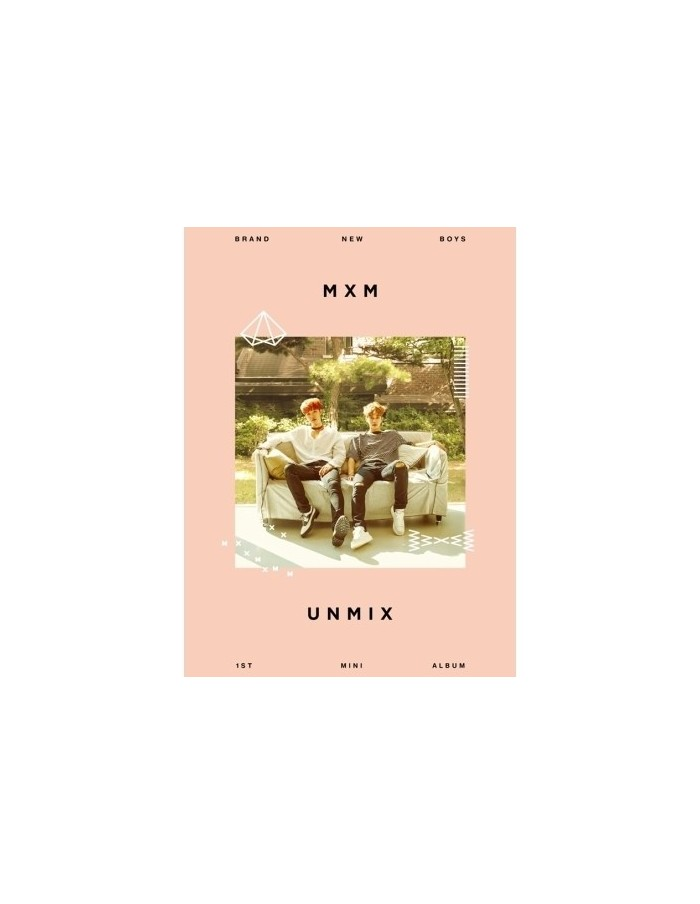 MXM (BRANDNEW BOYS) - UNMIX (B TYPE) CD + Poster