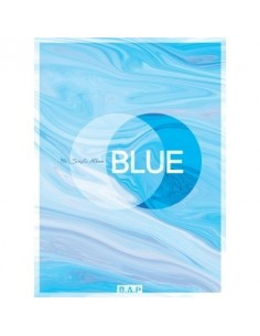 BAP 7th Single Album - BLUE(A ver) CD + Poster