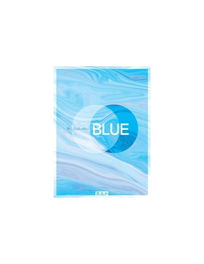 BAP 7th Single Album - BLUE(A ver) CD + Poster