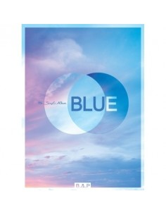 BAP 7th Single Album - BLUE(B ver) CD + Poster