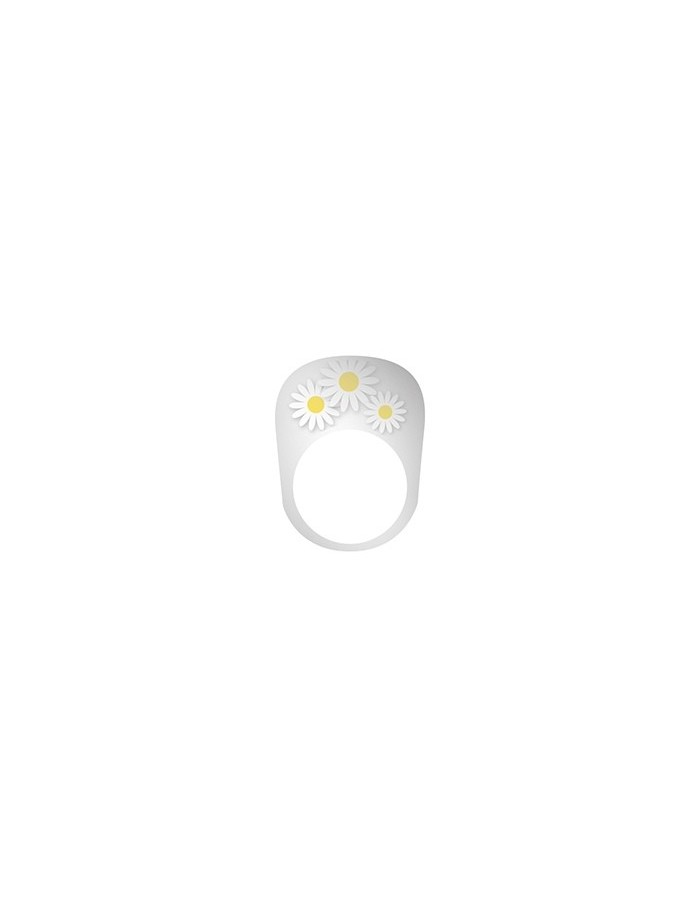 TAEYANG DAISY PLASTIC RING - 2017 WORLD TOUR WHITE NIGHT in SEOUL
