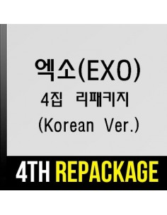 EXO 4th Album REPACKAGE - THE WAR (THE POWER OF MUSIC) (KOREAN Version) CD + POSTER