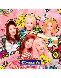 ELRIS 2nd Mini Album - COLOR CRUSH CD + Poster