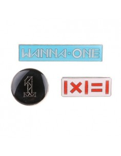 WANNA ONE Popup Store Goods : Steel Badge (3Kinds)