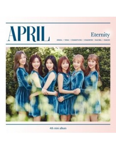 APRIL -  ETERNITY 4th Mini Album CD + Poster