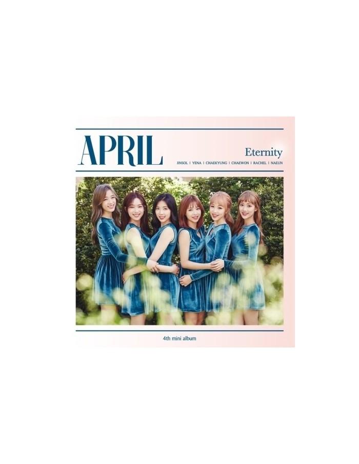 APRIL -  ETERNITY 4th Mini Album CD + Poster