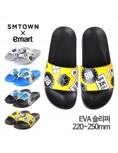 SM X Emart EXO Slipper (Yellow)