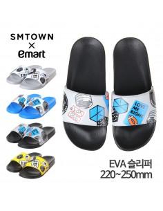 SM X Emart EXO Slipper (Black)