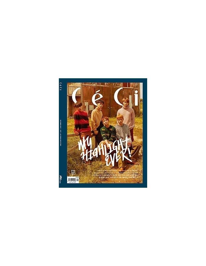Magazine CeCi 2017-10 HIGHLIGHT, WANNAONE + Spread holder photos