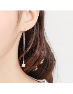[AS325] Cadena earring