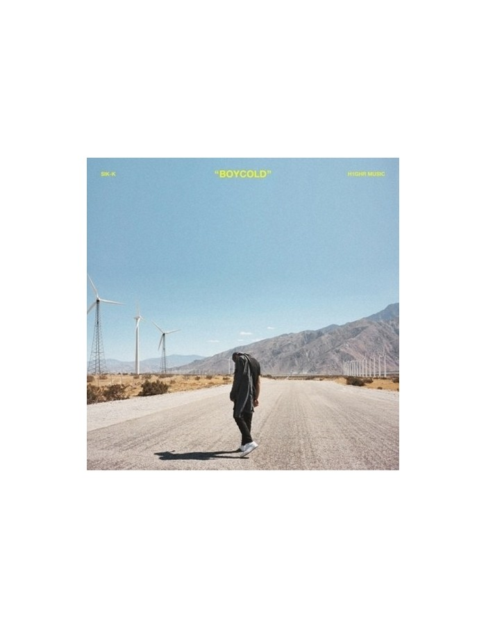 Sik-K EP Album - BOYCOLD CD