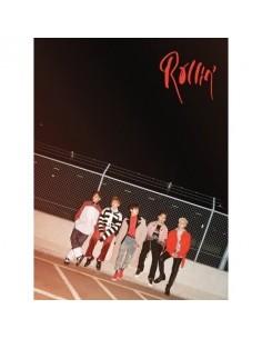 B1A4 7th Mini Album - ROLLIN (BLACK Ver) CD + Poster