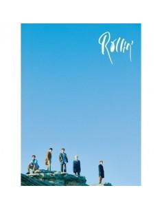 B1A4 7th Mini Album - ROLLIN (BLUE Ver) CD + Poster