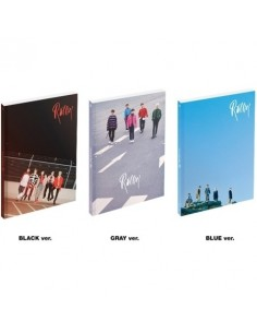 [SET] B1A4 7th Mini Album - ROLLIN (Black+Blue+Gray) 3CDs + 3 Different Posters